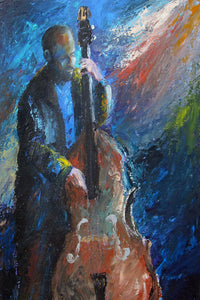 """Smooth Bass"" Giclee canvas print by Thomas Andrew - Thomasandrewartwork"