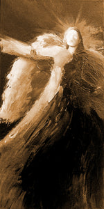 """The Protector"" sepia / Giclee canvas print by Thomas Andrew - ThomasAndrewArtwork"