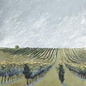 """Wine Country #10"" Desat / print by Thomas Andrew - Thomasandrewartwork"
