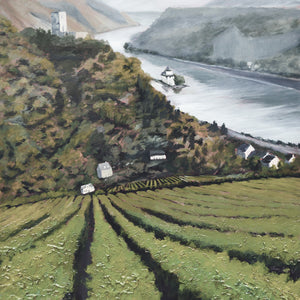 """Wine Country #11"" Desat / print by Thomas Andrew - Thomasandrewartwork"