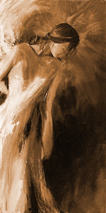 """Watching Over"" sepia / print by Thomas Andrew - Thomasandrewartwork"