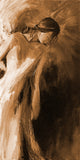 """Watching Over"" sepia / Giclee canvas print by Thomas Andrew - Thomasandrewartwork"