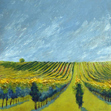 "Load image into Gallery viewer, ""Wine Country #10"" Giclee canvas print by Thomas Andrew"