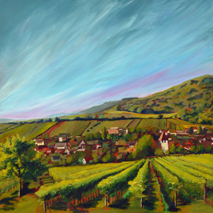 """Wine Country #12"" Giclee canvas print by Thomas Andrew - Thomasandrewartwork"