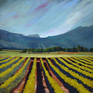 """Wine Country #13"" Giclee canvas print by Thomas Andrew - Thomasandrewartwork"