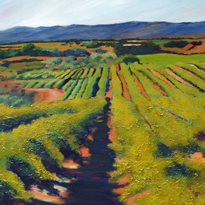 """Wine Country #15"" Giclee canvas print by Thomas Andrew - Thomasandrewartwork"