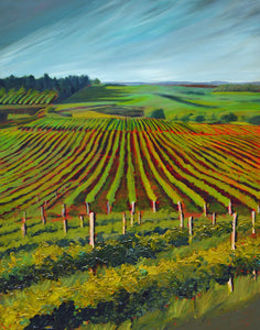 """Wine Country #17"" print by Thomas Andrew - ThomasAndrewArtwork"