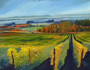 """Wine Country #19"" Giclee canvas print by Thomas Andrew - Thomasandrewartwork"