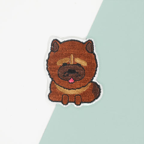 ChowChow Iron On Patch
