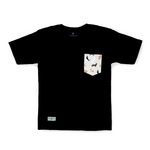 'Simple Happiness' Pocket T-Shirt