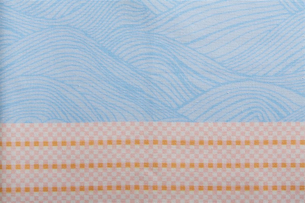 Oilily- Stormy Waves Printed Cotton Terry Turkish Towel