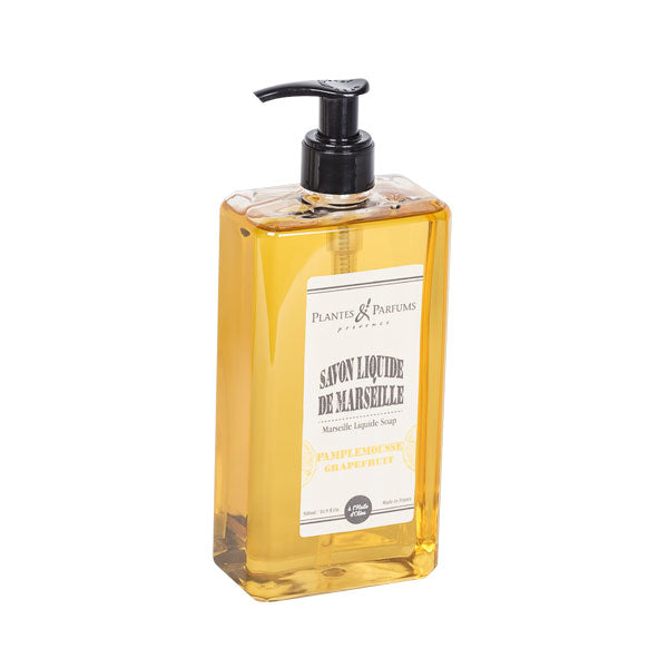 Plantes & Parfums - Natura Marseille Liquid Soap 500ml - Grapefruit