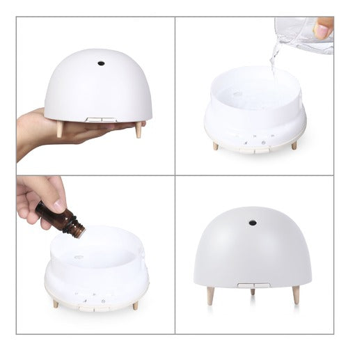 Bamboo Fibre Aroma Ultrasonic Diffuser (2 colours available)