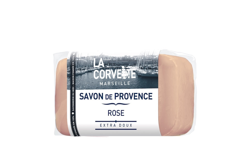 La Corvette Marseille - Soap of Provence Rose 100g