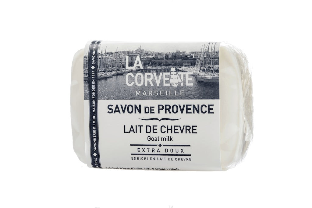 La Corvette Marseille - Soap of Provence Goat milk 100g