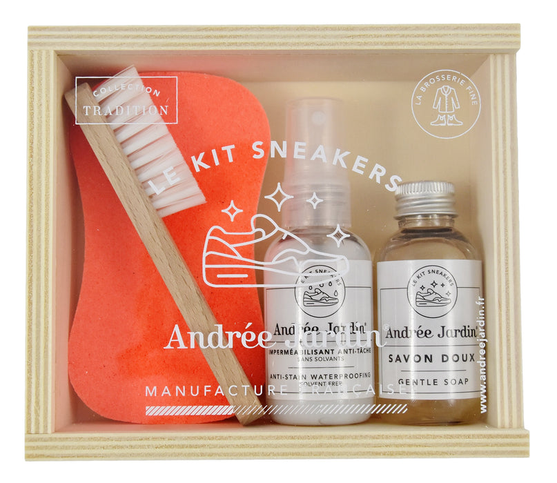 Andree Jardin - 4 Piece Sneaker Cleaning Gift Box
