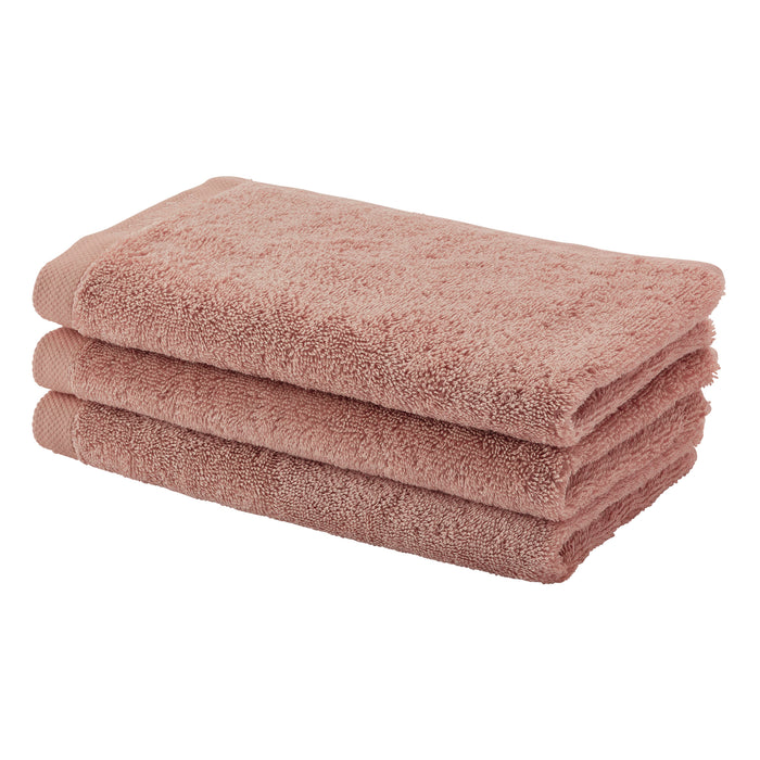 Aquanova - LONDON Egyptian Combed Cotton Brique Guest Towel