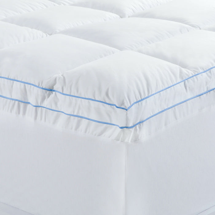 Cloudland Memory Resistant Mattress Topper - 750 GSM