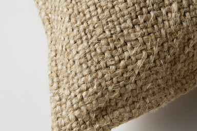 100% French Linen Breakfast Cushion - Natural