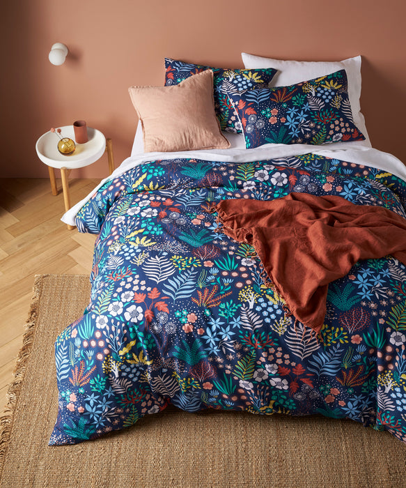 Accessorize - Erica Digital Printed Cotton Quilt Cover Set