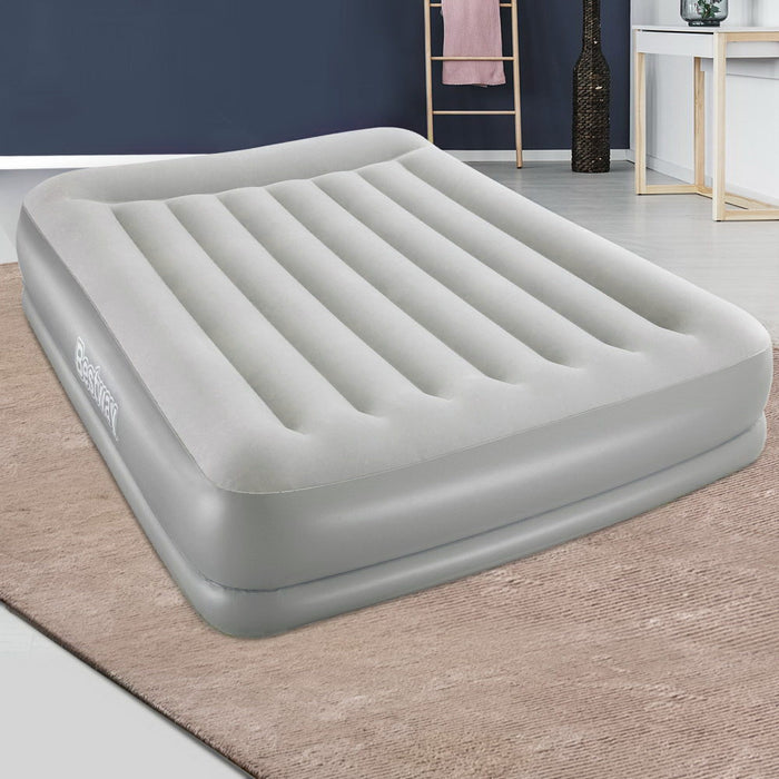 Bestway Inflatable Air Bed with Built In Pump- Queen