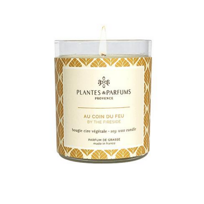 Plantes & Parfums -180g Handcrafted Perfumed Candle  - By the Fireside
