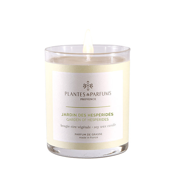 Plantes & Parfums -180g Handcrafted Perfumed Candle - Garden of Hesperides