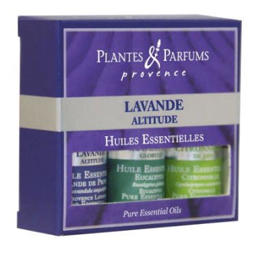 Plantes & Parfums - Home Essentials - Box of 3 Pure Essential Oils