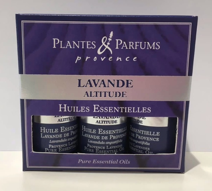 Plantes & Parfums - Box of 3 Pure Essential Oils - Lavender