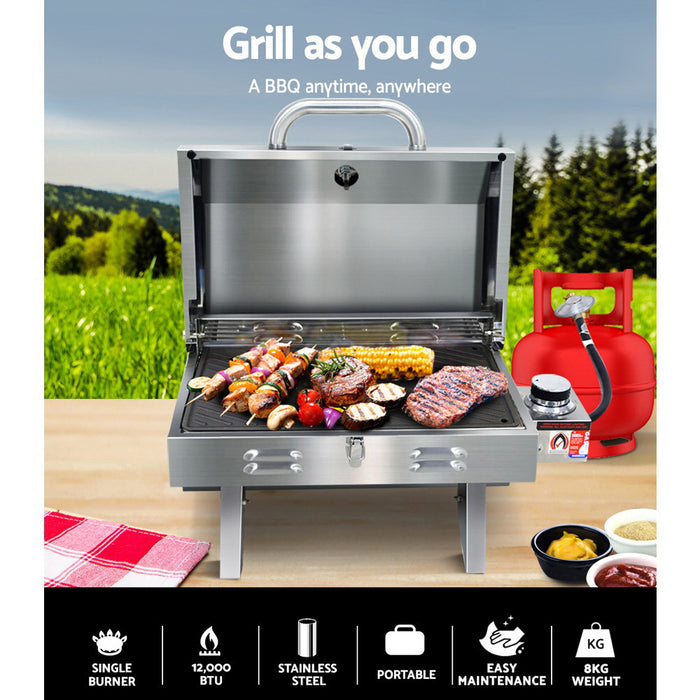 Portable Gas BBQ - Cooking Plate