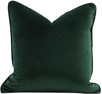 Luxe Velvet Feather Filled Cushion - Emerald