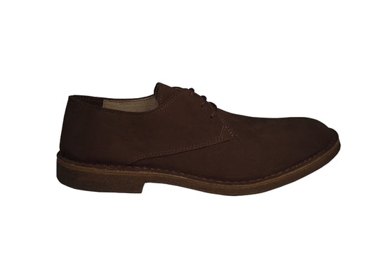 Anteo Coffee Brown Desert Shoes -50%