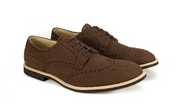 Fera libens men's collection vegan shoes animal free shoes derbies coffee brown