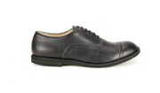 Fera libens shoes man collection vegan eco friendly animal free oxford panther black