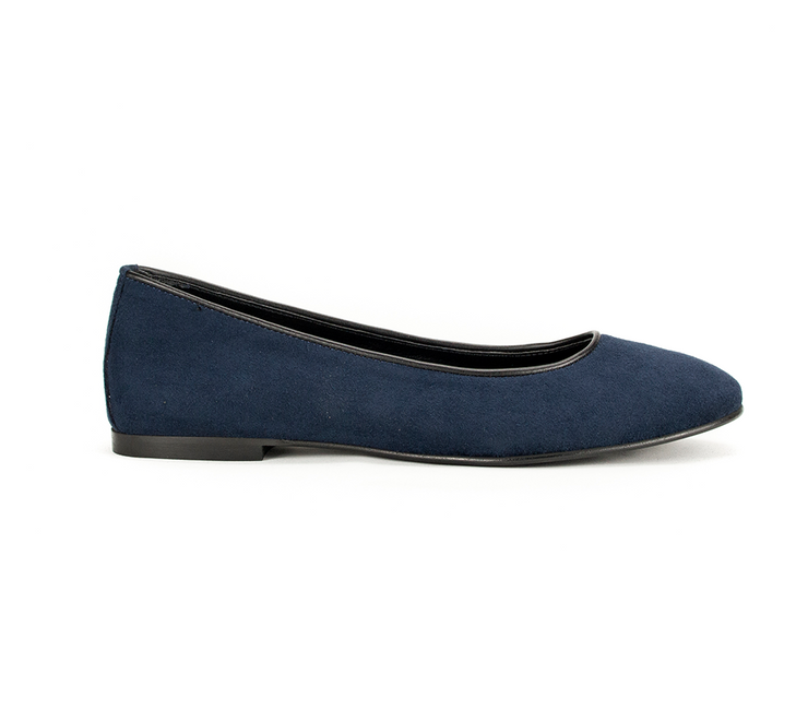 Fera libens women's collection vegan shoes animal free shoes ballerinas calipso sapphire blue