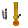 Pack Mini - Bong de agua acrílico amarillo – Fumaogram Shop