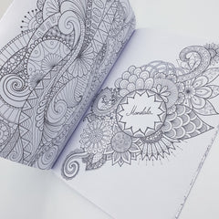 Zen Adults Colouring Book