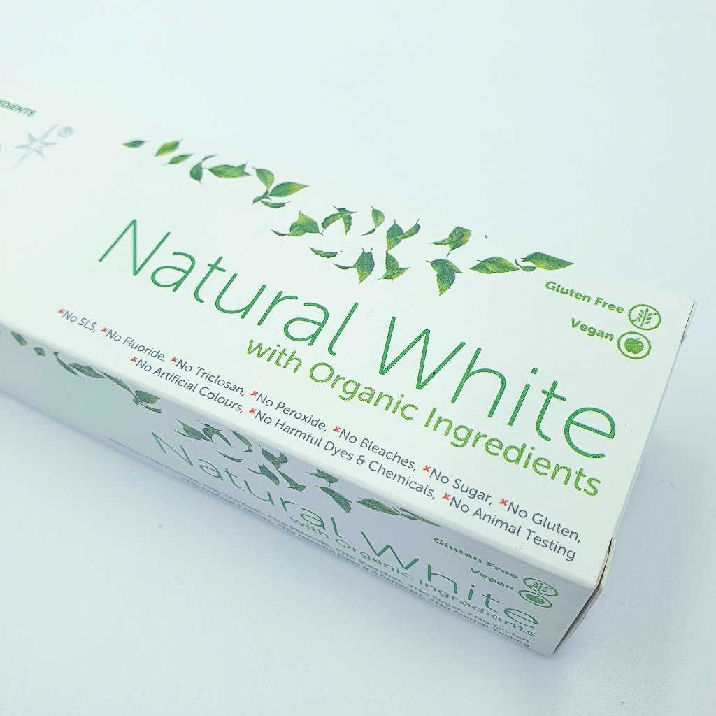 White Glo Advantage Natural With Organic Ingredients Tooth Paste