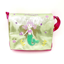 Embroidered Large Sea Princess Satchel Bag