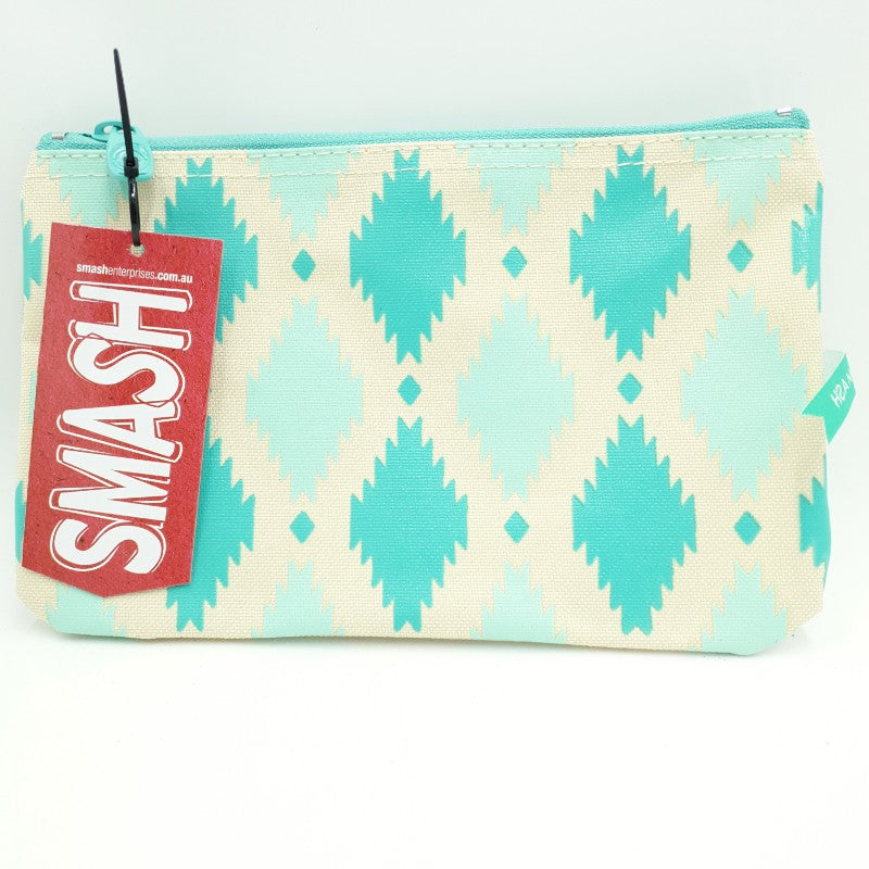 Smash Canvas Cosmetics bag/Pencil case Tiles
