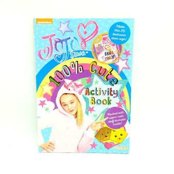 Jojo Siwa 100% Cute Activity Book