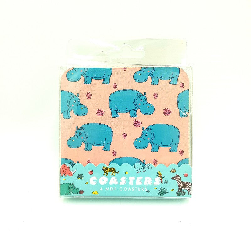 Hippo Drink Coasters