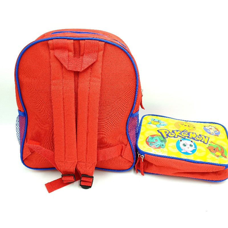 Pokemon Backpack with Bonus Insulated Lunch Box