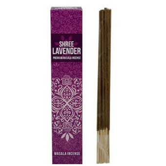Shree Lavender Masala Incense