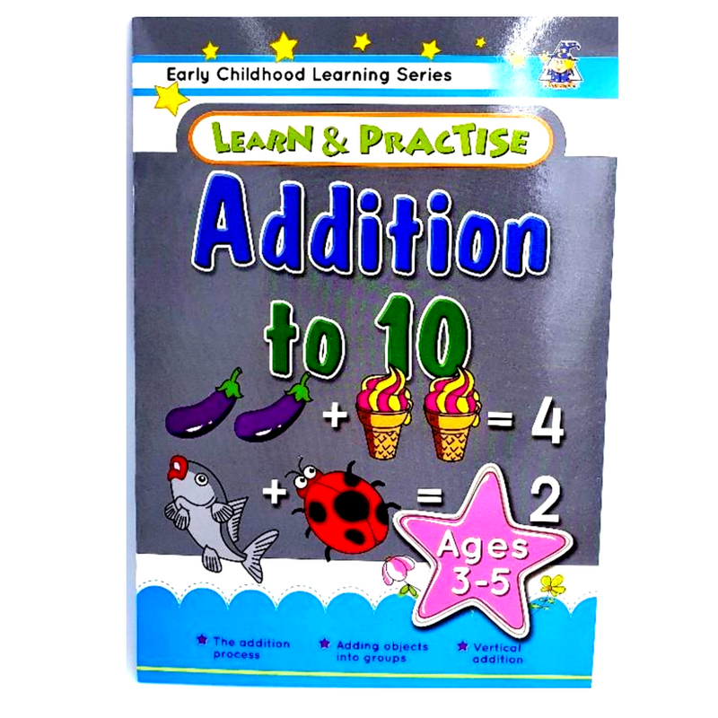 Learn & Practice Numbers 1 to 10  Ages 3-5 years (B)