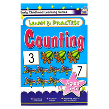 Learn & Practice Counting Ages 3-5 years (LB)