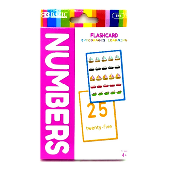 Bazic Numbers Flash Card Set