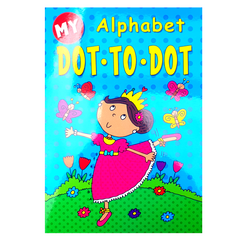 My Alphabet Dot to Dot Princess Book