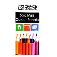 Office Central 6pc Mini Pencils