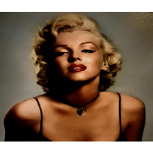 Paint Theropy Paint By Numbers Art Set Marylin Monroe